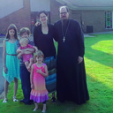 St. Stephen Parish in Michigan welcomes new priest and his family