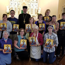 Priesthood, life are like painting an icon, says priest iconographer