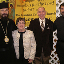 Two regions in the eparchy celebrate wedding jubilarians