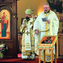 Bishop Lach visits Indianapolis