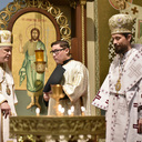 Youngest ordinary bishop in North America takes possession of see