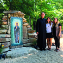 Parish builds new grotto to patron saint of cancer patients