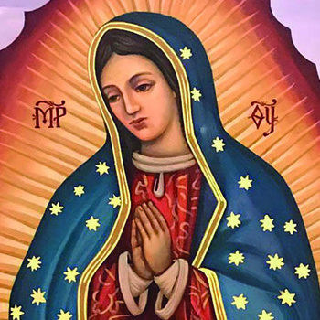 Our Lady of Guadalupe, a feast for Byzantine Catholics, too