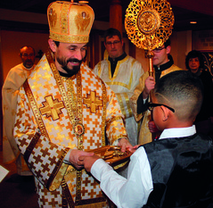 Midwest region welcomes Bishop Lach at St. Nicholas Banquet