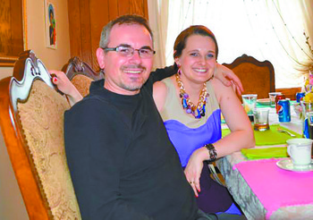 Married priesthood requires 'healthy balance,' say married priest and wife