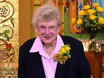 Benedictine sister marks 50 years of monastic profession