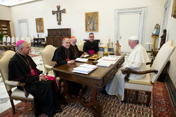 Pope calls for world meeting of bishops on preventing abuse