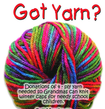 'Kaps for Kids' project continues in Parma, more yarn needed
