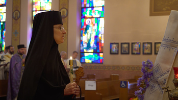 New stavrophore nun understands her vocation as 'nursing souls'