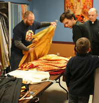 Altar servers gather for retreat
