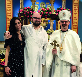 Parish welcome cinches new Catholic's choice of church
