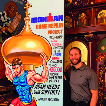 Parishoner takes on Ironman to raise funds for church