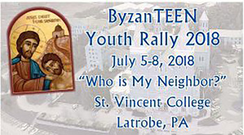 ByzanTEEN rally to be held July 5-8
