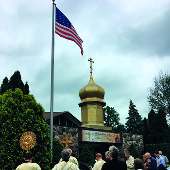 Michigan parish celebrates Flag Day