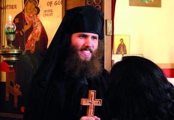 Milwaukee native tonsured as Byzantine Catholic monk