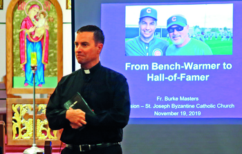Love of baseball led to priesthood for Cubs chaplain