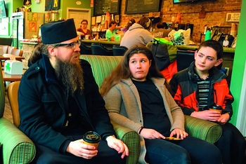 Midwest teens hear witness from monk, peer at Lenten retreat day