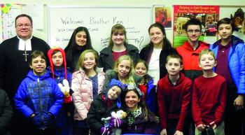Sacred Heart faith formation classes learn about the missions