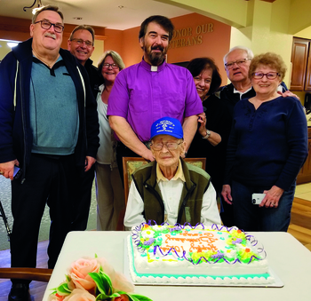 St. Michael parishioner turns 102