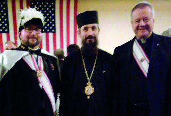 Bishop, deacon become fourth-degree Knights