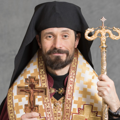 Most Reverend Milan Lach, SJ, <br />Bishop of the Eparchy of Parma