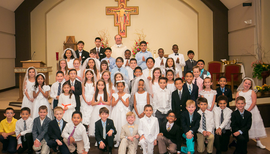 First Communion at St. Angela Merici
