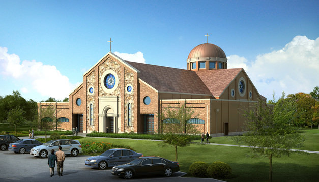 New Church Building for St. Angela Merici in Missouri City