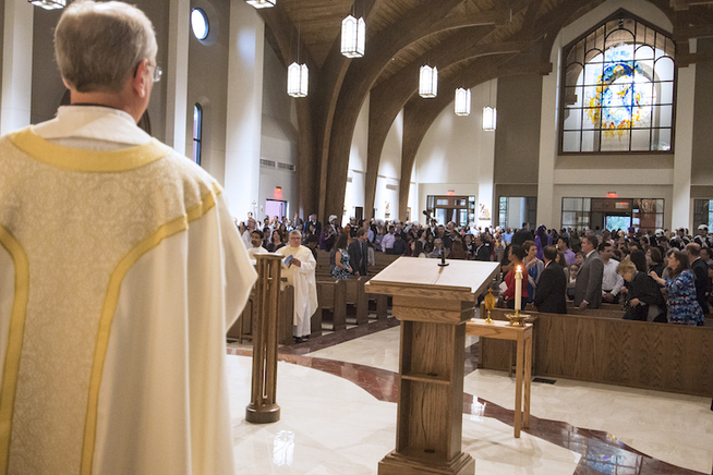 Dedication of New Church - St. Angela Merici Catholic Church
