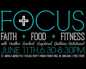 Focus: Faith, Food & Fitness