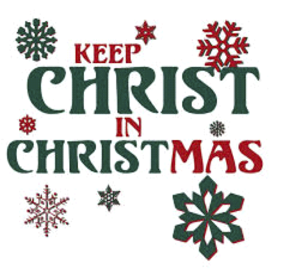 Christ In Christmas.St Thomas Council Sponsors Keep Christ In Christmas Poster