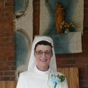 Sr Rosemarie receives the habit