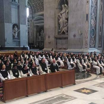 Papal Audience at the General Chapter