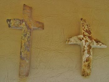 Stone Crosses Found on Our Land