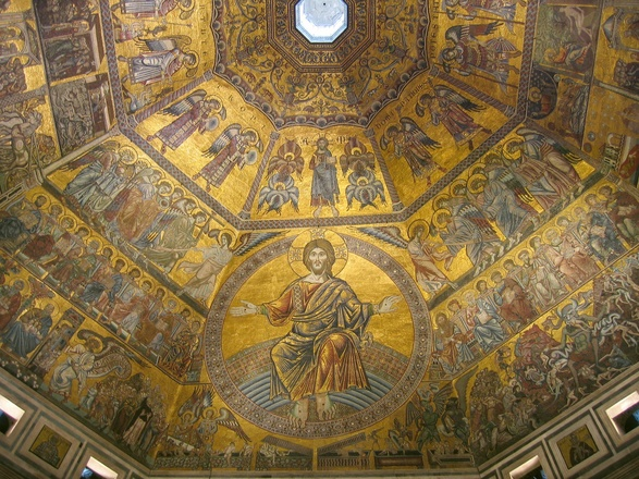 Florence Baptistery: Last Judgment (13th Century mosaic)