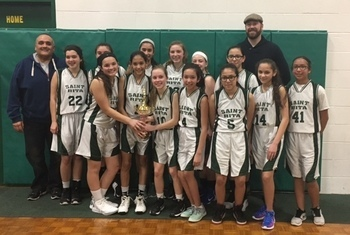 Combined 7th/8th Girls Place 2nd in Marie Wilkinson Tourney