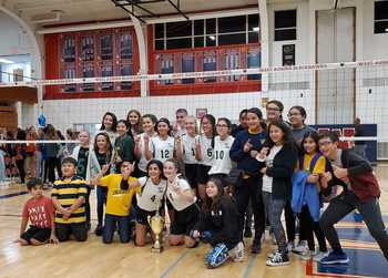 St. Rita Claims City of Lights Volleyball Championship