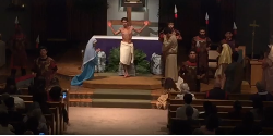 Mass of the Cross: Re-enactment of Stations of the Cross (was LIVE)