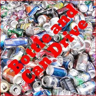 Can and Bottle Drive after Mass