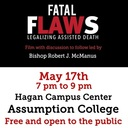 Emmanuel Radio's Fatal Flaws Movie Event with Bishop McManus This Thursday!