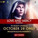 SEE THE FAUSTINA MOVIE ONE NIGHT ONLY OCT. 28