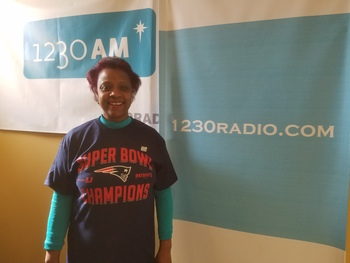 Emmanuel Radio Listener Receives Blessed Pats Shirt