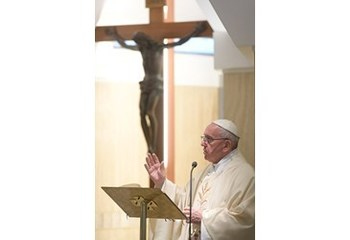 Pope at daily Mass: To evangelize, go out, listen, rejoice