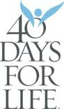 40 Days For Life Campaign Starts September 27