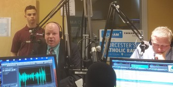 HOLY NAME HIGH SCHOOL ON EMMANUEL RADIO AT 9AM TODAY