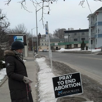 Prayer Vigil to End Abortion in Fitchburg Jan. 22