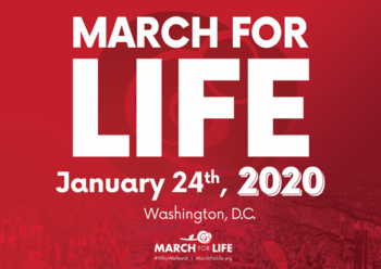 March for Life 2020 - Details and Registration Information Now Available!
