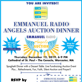 Bid Right Now to Support Emmanuel Radio's Angels Auction 2019