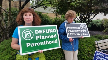 End Taxpayer Funding of Abortion Signature Drive July 24