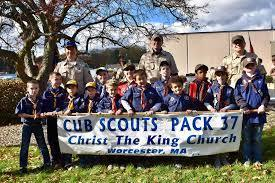 Pack 37 Cub Scouts Meets Fridays at Christ the King Church