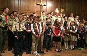 Diocesan Catholic Committee on Scouting Mass for Youth Feb. 28